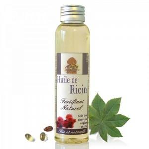 huile de ricin et vertus pour cheveux ongle et peau