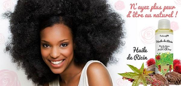 huile de ricin pour vos cheveux plus long et souple